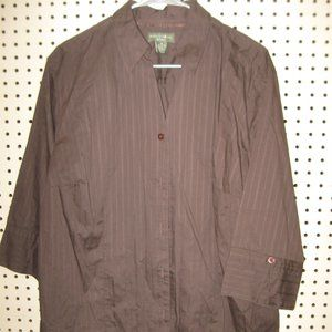 Women's Long Sleeve Button Up By Mountain Lake